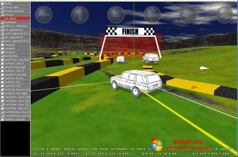 સ્ક્રીનશૉટ 3D Rad Windows 7