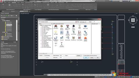 સ્ક્રીનશૉટ AutoCAD Electrical Windows 7