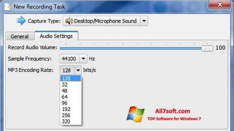 સ્ક્રીનશૉટ SMRecorder Windows 7