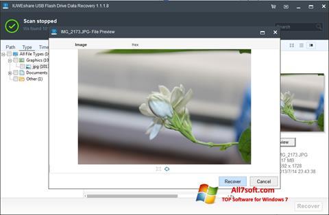 સ્ક્રીનશૉટ USB Flash Drive Recovery Windows 7