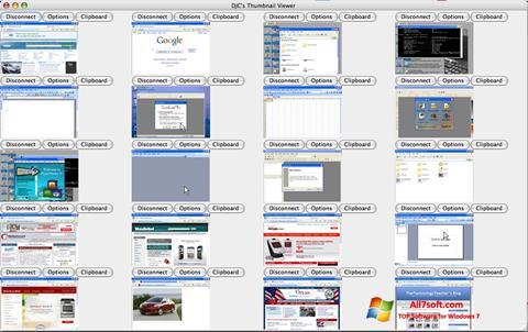 સ્ક્રીનશૉટ VNC Viewer Windows 7