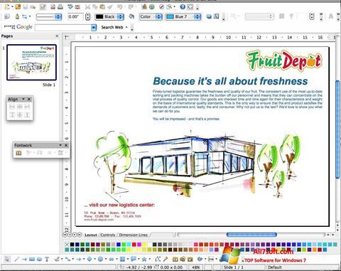 સ્ક્રીનશૉટ Apache OpenOffice Windows 7