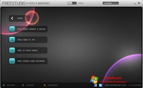 સ્ક્રીનશૉટ Free Studio Windows 7