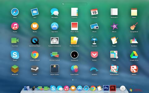 સ્ક્રીનશૉટ OS X Flat IconPack Installer Windows 7