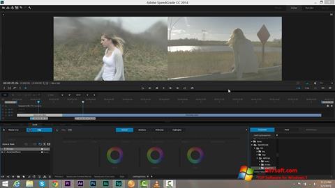 સ્ક્રીનશૉટ Adobe SpeedGrade Windows 7