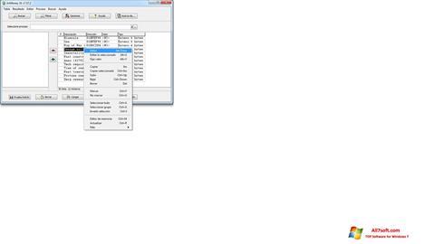 સ્ક્રીનશૉટ ArtMoney Pro Windows 7