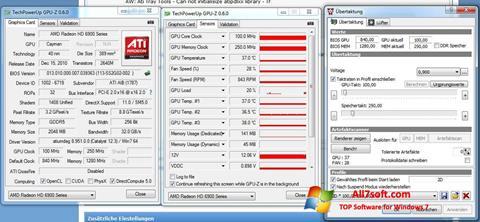 સ્ક્રીનશૉટ ATI Tray Tools Windows 7