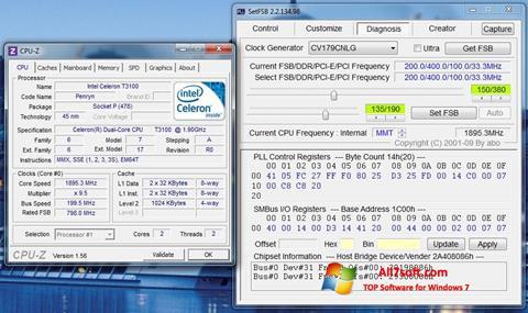સ્ક્રીનશૉટ SetFSB Windows 7