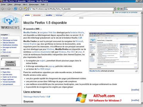સ્ક્રીનશૉટ Mozilla Firefox Windows 7