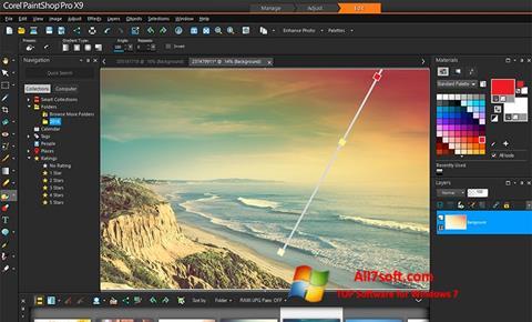સ્ક્રીનશૉટ PaintShop Pro Windows 7