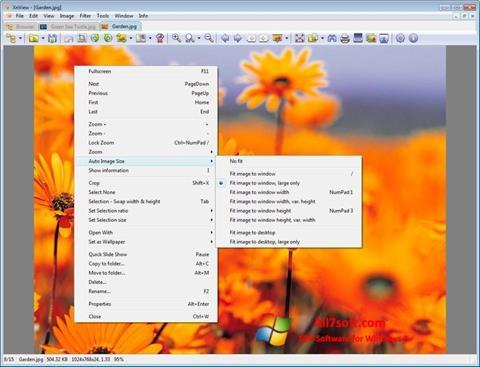 સ્ક્રીનશૉટ XnView Windows 7