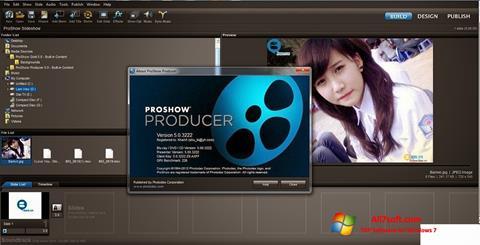 સ્ક્રીનશૉટ ProShow Producer Windows 7