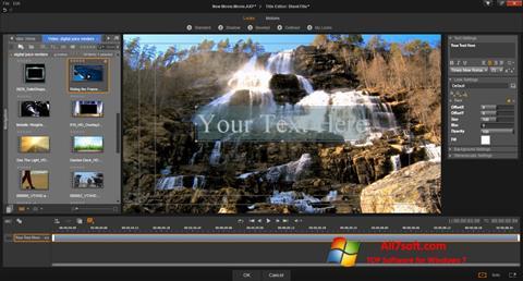 સ્ક્રીનશૉટ Pinnacle Studio Windows 7