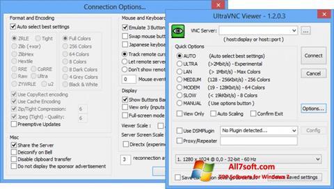સ્ક્રીનશૉટ UltraVNC Windows 7