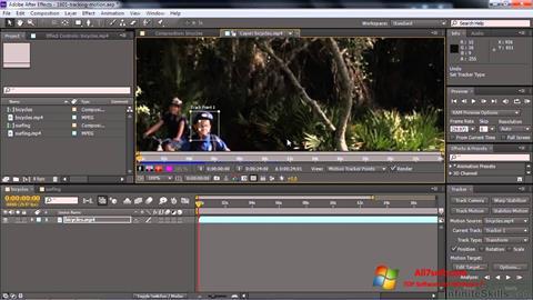 સ્ક્રીનશૉટ Adobe After Effects CC Windows 7