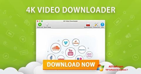 સ્ક્રીનશૉટ 4K Video Downloader Windows 7