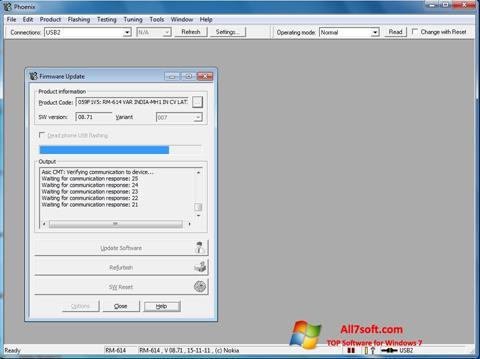 સ્ક્રીનશૉટ Phoenix Windows 7