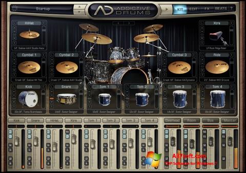 સ્ક્રીનશૉટ Addictive Drums Windows 7