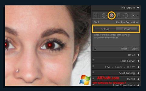 સ્ક્રીનશૉટ Red Eye Remover Windows 7