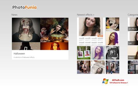 સ્ક્રીનશૉટ PhotoFunia Windows 7