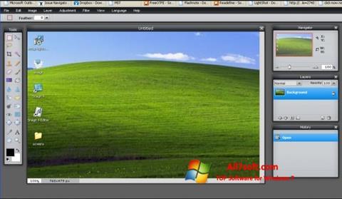 સ્ક્રીનશૉટ LightShot Windows 7