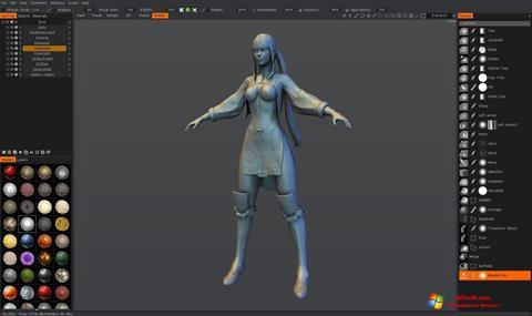 સ્ક્રીનશૉટ 3D-Coat Windows 7